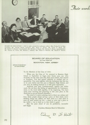 Page 10, 1956 Edition, Boonton High School - Echoes Yearbook (Boonton, NJ) online yearbook collection