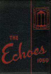 1959 Edition, Boonton High School - Echoes Yearbook (Boonton, NJ)