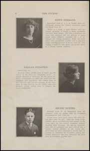 Page 10, 1922 Edition, Ridgefield Park High School - Idler Yearbook (Ridgefield Park, NJ) online yearbook collection