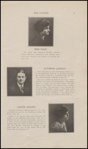 Page 7, 1922 Edition, Ridgefield Park High School - Idler Yearbook (Ridgefield Park, NJ) online yearbook collection