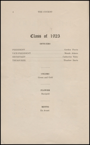 Page 6, 1923 Edition, Ridgefield Park High School - Idler Yearbook (Ridgefield Park, NJ) online yearbook collection