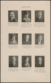 Page 8, 1923 Edition, Ridgefield Park High School - Idler Yearbook (Ridgefield Park, NJ) online yearbook collection