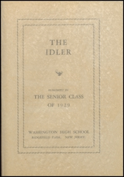 Page 11, 1929 Edition, Ridgefield Park High School - Idler Yearbook (Ridgefield Park, NJ) online yearbook collection