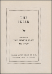 Page 13, 1929 Edition, Ridgefield Park High School - Idler Yearbook (Ridgefield Park, NJ) online yearbook collection