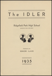 Page 5, 1935 Edition, Ridgefield Park High School - Idler Yearbook (Ridgefield Park, NJ) online yearbook collection