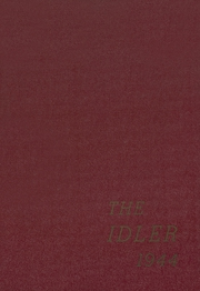 Page 1, 1944 Edition, Ridgefield Park High School - Idler Yearbook (Ridgefield Park, NJ) online yearbook collection