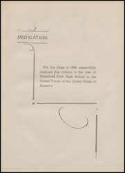 Page 9, 1944 Edition, Ridgefield Park High School - Idler Yearbook (Ridgefield Park, NJ) online yearbook collection
