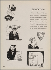 Page 8, 1945 Edition, Ridgefield Park High School - Idler Yearbook (Ridgefield Park, NJ) online yearbook collection