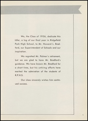 Page 9, 1956 Edition, Ridgefield Park High School - Idler Yearbook (Ridgefield Park, NJ) online yearbook collection