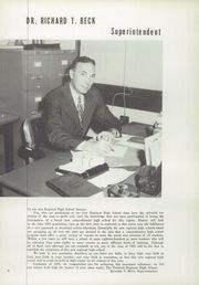 Page 8, 1955 Edition, Freehold Regional High School - Log Yearbook (Freehold, NJ) online yearbook collection