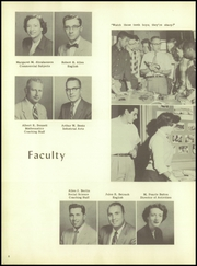 Page 10, 1957 Edition, Freehold Regional High School - Log Yearbook (Freehold, NJ) online yearbook collection
