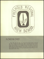 Page 6, 1957 Edition, Freehold Regional High School - Log Yearbook (Freehold, NJ) online yearbook collection