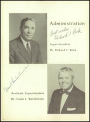 Page 8, 1957 Edition, Freehold Regional High School - Log Yearbook (Freehold, NJ) online yearbook collection
