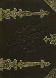 1943 Edition, Lodi High School - Magic Casements Yearbook (Lodi, NJ)