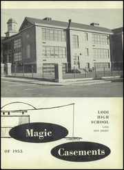 Page 7, 1955 Edition, Lodi High School - Magic Casements Yearbook (Lodi, NJ) online yearbook collection