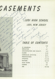 Page 7, 1960 Edition, Lodi High School - Magic Casements Yearbook (Lodi, NJ) online yearbook collection