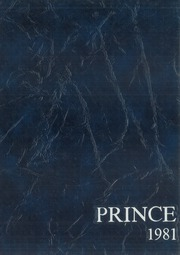 1981 Edition, Princeton High School - Prince Yearbook (Princeton, NJ)