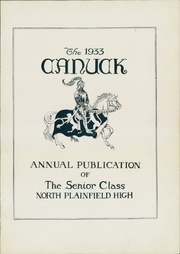 Page 7, 1933 Edition, North Plainfield High School - Canuck Yearbook (North Plainfield, NJ) online yearbook collection