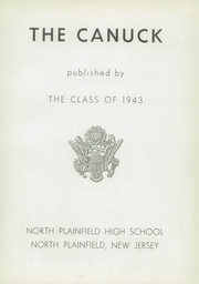 Page 7, 1943 Edition, North Plainfield High School - Canuck Yearbook (North Plainfield, NJ) online yearbook collection