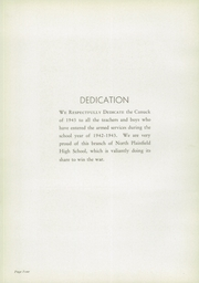 Page 8, 1943 Edition, North Plainfield High School - Canuck Yearbook (North Plainfield, NJ) online yearbook collection