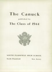 Page 7, 1944 Edition, North Plainfield High School - Canuck Yearbook (North Plainfield, NJ) online yearbook collection