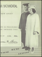 Page 15, 1952 Edition, North Plainfield High School - Canuck Yearbook (North Plainfield, NJ) online yearbook collection