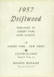 Page 5, 1957 Edition, Asbury Park High School - Driftwood Yearbook (Asbury Park, NJ) online yearbook collection