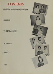 Page 11, 1959 Edition, Watchung Hills Regional High School - Lenape Yearbook (Warren, NJ) online yearbook collection