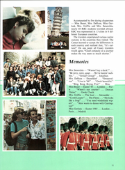 Page 15, 1986 Edition, Red Bank Catholic High School - Emerald Yearbook (Red Bank, NJ) online yearbook collection