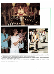 Page 9, 1986 Edition, Red Bank Catholic High School - Emerald Yearbook (Red Bank, NJ) online yearbook collection