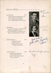 Abraham Clark High School - Sphinx Yearbook (Roselle, NJ) online yearbook collection, 1931 Edition, Page 33