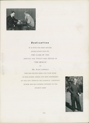 Page 11, 1940 Edition, Hackettstown High School - Oracle Yearbook (Hackettstown, NJ) online yearbook collection