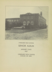 Page 3, 1937 Edition, Lyndhurst High School - Ursa Major Yearbook (Lyndhurst, NJ) online yearbook collection