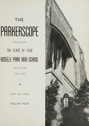 Page 5, 1938 Edition, Roselle Park High School - Parkerscope Yearbook (Roselle Park, NJ) online yearbook collection