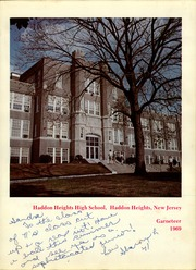 Page 5, 1969 Edition, Haddon Heights High School - Garneteer Yearbook (Haddon Heights, NJ) online yearbook collection
