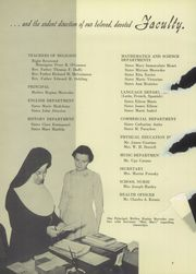 Page 12, 1955 Edition, Queen of Peace High School - Pact Yearbook (North Arlington, NJ) online yearbook collection