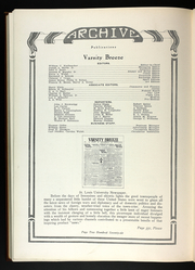 Page 282, 1922 Edition, St Louis University - Archive Yearbook (St Louis, MO) online yearbook collection