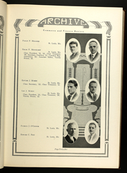 Page 49, 1922 Edition, St Louis University - Archive Yearbook (St Louis, MO) online yearbook collection