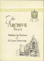 Page 8, 1925 Edition, St Louis University - Archive Yearbook (St Louis, MO) online yearbook collection