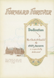 Page 10, 1929 Edition, St Louis University - Archive Yearbook (St Louis, MO) online yearbook collection
