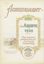 Page 6, 1929 Edition, St Louis University - Archive Yearbook (St Louis, MO) online yearbook collection
