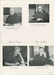 Page 11, 1949 Edition, St Louis University - Archive Yearbook (St Louis, MO) online yearbook collection