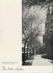 Page 5, 1949 Edition, St Louis University - Archive Yearbook (St Louis, MO) online yearbook collection
