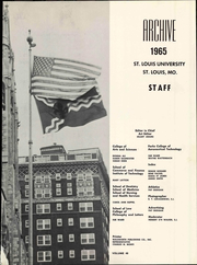 Page 5, 1965 Edition, St Louis University - Archive Yearbook (St Louis, MO) online yearbook collection