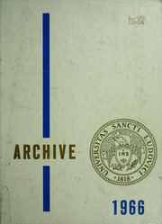 Page 1, 1966 Edition, St Louis University - Archive Yearbook (St Louis, MO) online yearbook collection