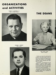 Page 16, 1966 Edition, St Louis University - Archive Yearbook (St Louis, MO) online yearbook collection