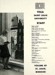 Page 5, 1966 Edition, St Louis University - Archive Yearbook (St Louis, MO) online yearbook collection
