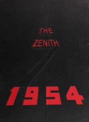 Page 1, 1954 Edition, Weehawken High School - Zenith Yearbook (Weehawken, NJ) online yearbook collection