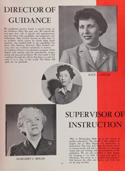 Page 15, 1954 Edition, Weehawken High School - Zenith Yearbook (Weehawken, NJ) online yearbook collection
