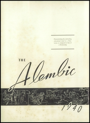 Page 6, 1940 Edition, Madison High School - Alembic Yearbook online yearbook collection